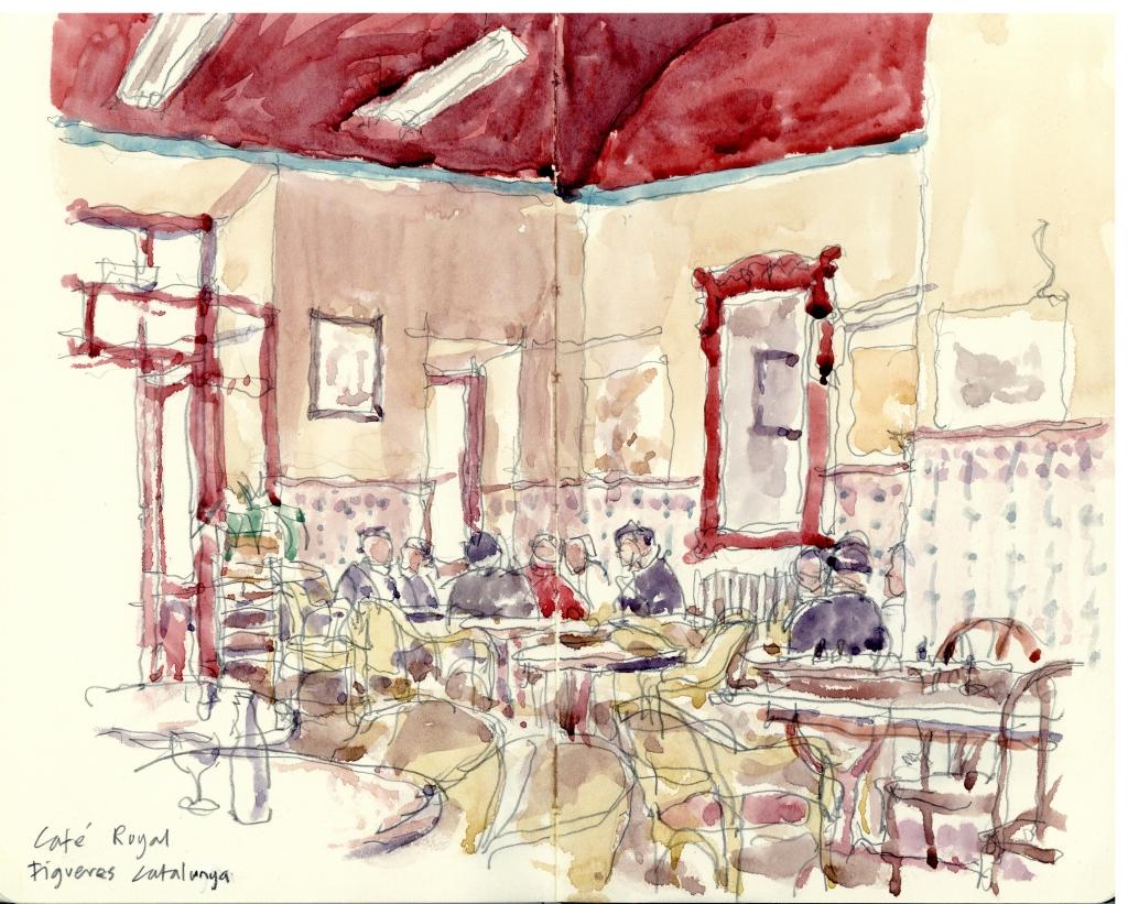 Cafe Royal Figueres Catalunya, Spain