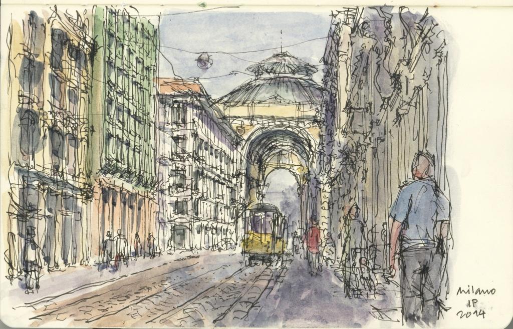 Galleria Victor Emmanuele, Milano