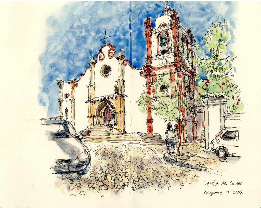 Igreja da Silves Algarve, Portugal 2008