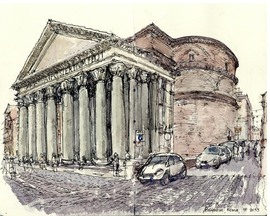 Pantheon Roma 2013